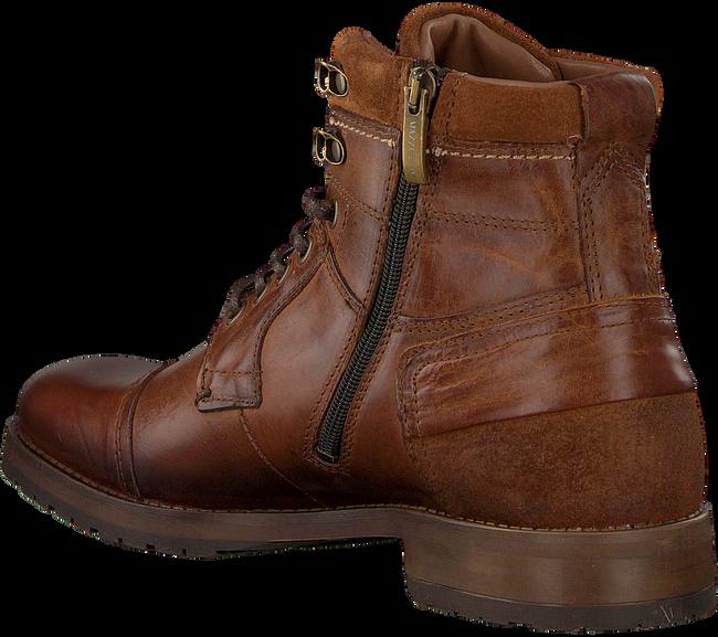 MAZZELTOV Chaussures à lacets MREVINHADE613.01OM en marron  - large