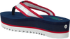 Blauwe TOMMY HILFIGER Slippers RECYCLED MESH MID BEACH  - small