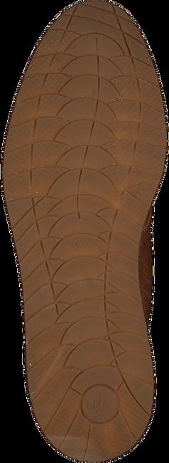 REHAB Bottines à lacets NAZAR LTHR VINTAGE en marron - large
