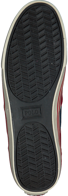 POLO RALPH LAUREN Baskets HANFORD en rouge - large