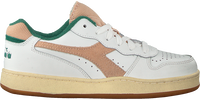 DIADORA Baskets basses MI BASKET LOW  USED WN en blanc  - medium