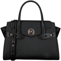 MICHAEL KORS Sac à main LG FLAP BELTED SATCHEL en noir  - medium