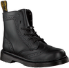 Black DR MARTENS shoe AALIYAH HIGH LEG BOOT  - small