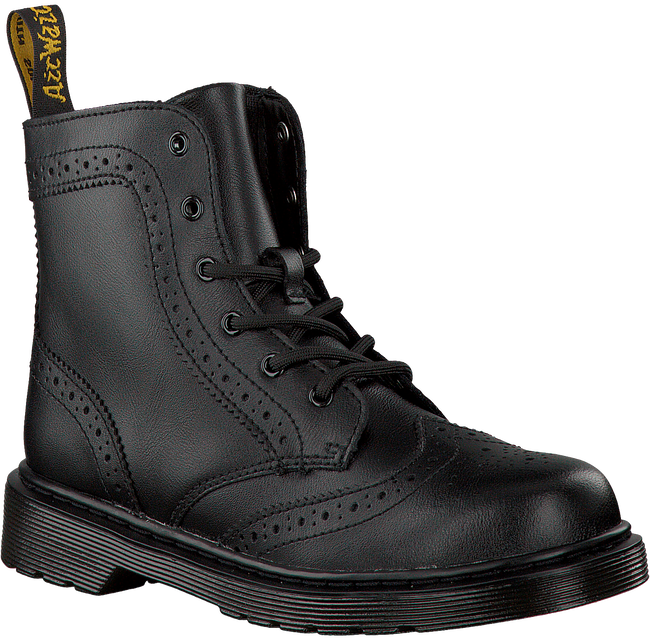 Black DR MARTENS shoe AALIYAH HIGH LEG BOOT  - large