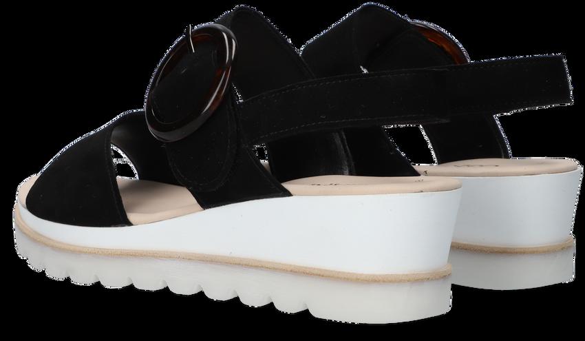 GABOR Sandales 645.1 en noir  - larger
