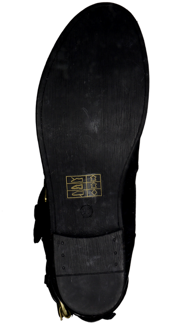NUBIKK Bottes hautes LEVA SHORT en noir - large