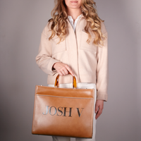 JOSH V Sac à main ALEXA en marron  - medium