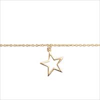 Gouden ATLITW STUDIO Armband SOUVENIR BRACELET STAR - medium