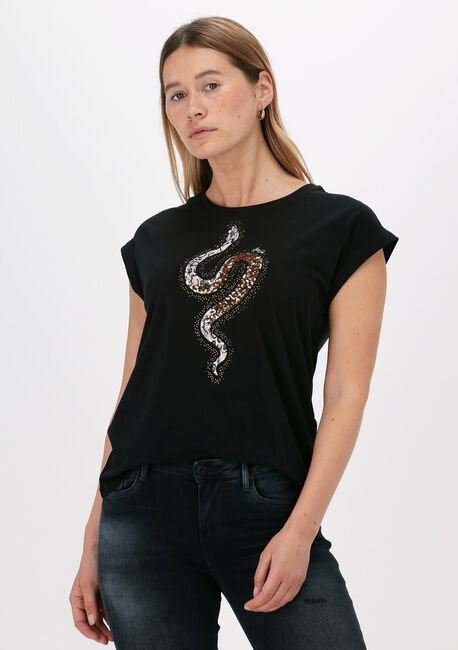 Zwarte LIU JO T-shirt T-SHIRT MODA M/C - large