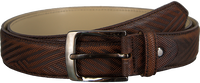 REHAB Ceinture BELT ZIG ZAG en marron - medium