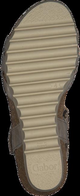 GABOR Sandales 611.1 en beige  - large