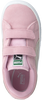 PUMA Baskets SUEDE 2 STRAPS en rose - small