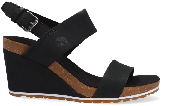 TIMBERLAND Sandales CAPRI SUNSET WEDGE en noir - large