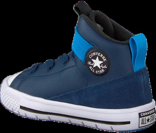 CONVERSE Baskets CHUCK TAYLOR HIGH STREET KIDS en bleu - large