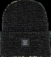 HERSCHEL Bonnet ABBOTT en noir  - medium