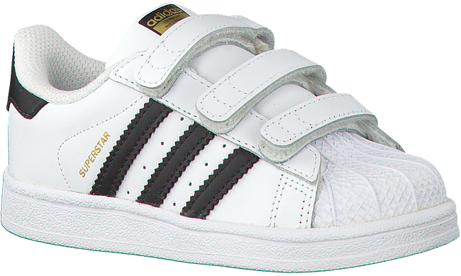 ADIDAS Baskets SUPERSTAR CF I en blanc - large