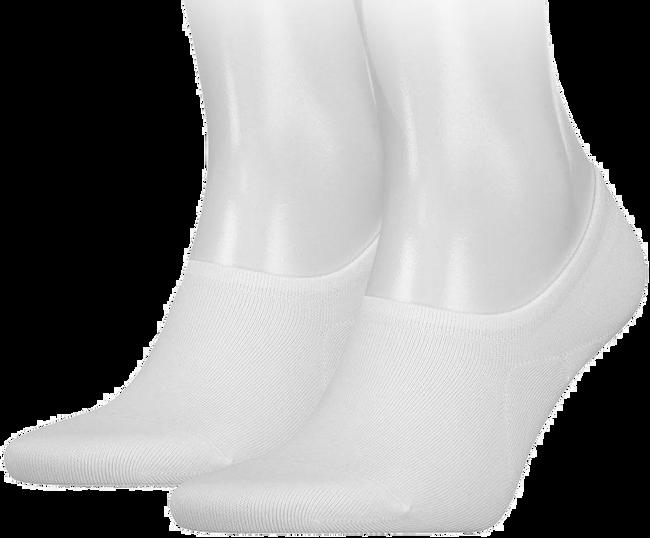 TOMMY HILFIGER Chaussettes TH MEN FOOTIE en blanc - large