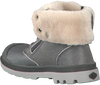 PALLADIUM Bottillons BAGGY LEATHER ZIP KIDS en gris - small