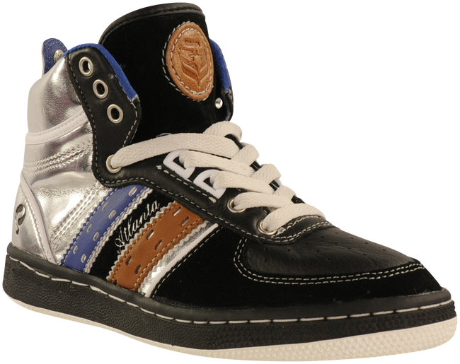 Black QUICK shoe ATLANTA JR LACE  - large