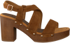 Bruine UNISA Sandalen TERRAT  - small