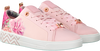 TED BAKER Baskets KELLEIT en rose - small