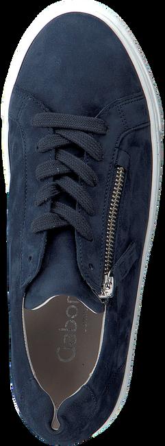 GABOR Baskets basses 498 en bleu  - large