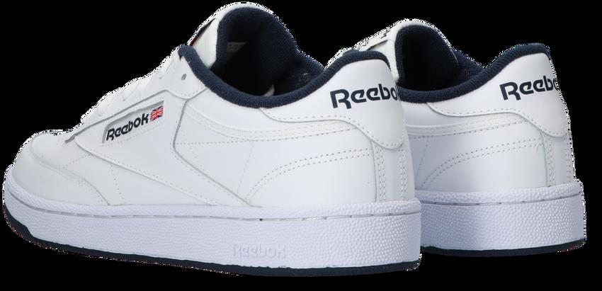 REEBOK Baskets CLUB C 85 MEN en blanc - larger