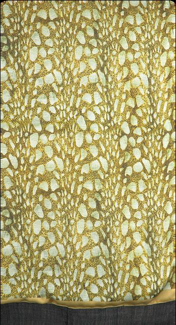 NOTRE-V Foulard DEBRA en vert  - large