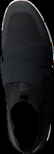 HUGO BOSS Baskets HYBRID RUNN KNTEL en noir - large