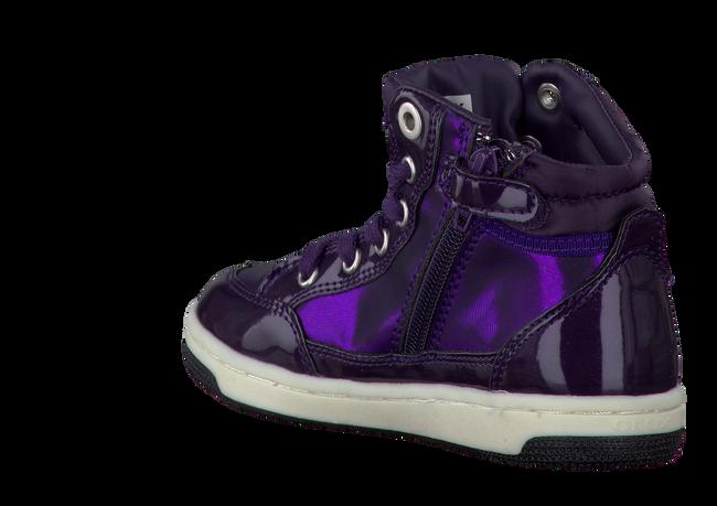 GEOX Baskets J34L5A en violet - large