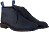 FLORIS VAN BOMMEL Bottines à lacets 10203 en bleu  - small