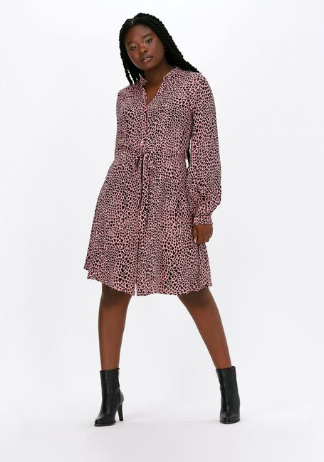 Roze FABIENNE CHAPOT Midi jurk DORIEN FRILL DRESS  - large