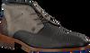 Grijze REHAB Nette schoenen SALVADOR ZIG ZAG - small