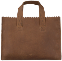 Bruine MYOMY Handtas MY PAPER BAG HANDBAG MINI - medium