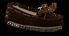 brown MINNETONKA shoe CALLY SLIPPER  - small