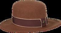 Bruine ROMANO SHAWLS AMSTERDAM Hoed HAT RIBBON  - medium