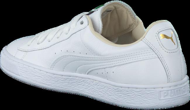 PUMA Baskets BASKET CLASSIC MEN en blanc - large