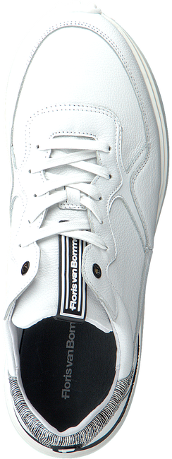 FLORIS VAN BOMMEL Baskets basses 16301 en blanc  - large