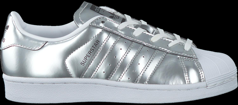 adidas superstar dames zilver