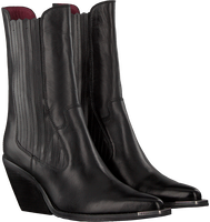 Zwarte BRONX Enkellaarsjes LOW-KOLE 34159  - medium