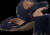 NOTRE-V Sandales 45163 en bleu  - small