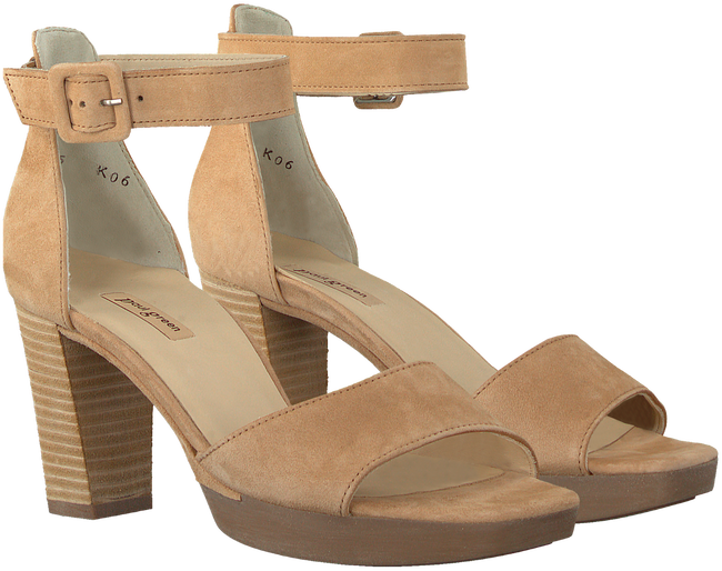 Beige PAUL GREEN Sandalen 7618 - large