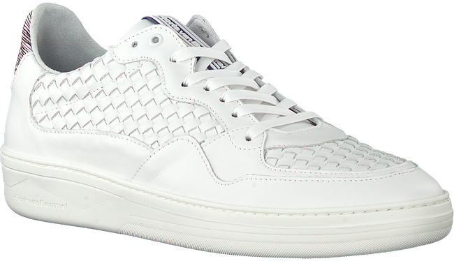 FLORIS VAN BOMMEL Baskets basses 16265 en blanc  - large