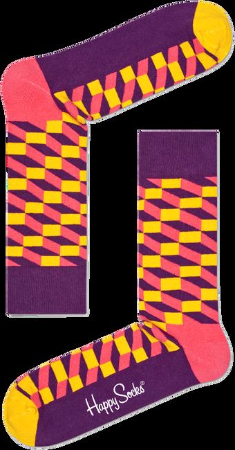 HAPPY SOCKS Chaussettes FILLED OPTIC en multicolore - large