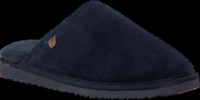 WARMBAT Chaussons CLASSIC UNISEX SUEDE en bleu - large