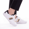 MICHAEL KORS Baskets KEATON STRIPE SNEAKER en or  - small