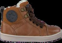 Cognac OMODA Hoge sneaker OM120717  - medium