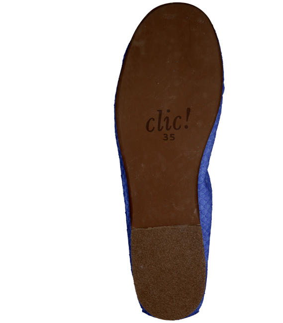 CLIC! Ballerines CL8153 en bleu - large