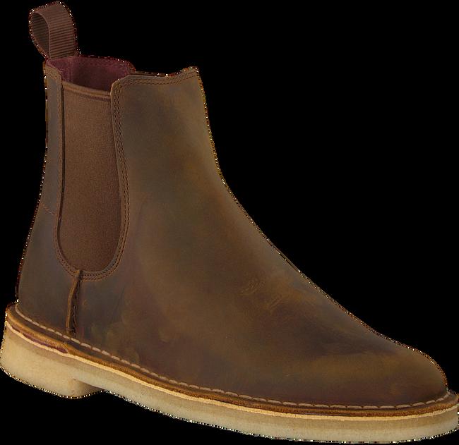 Bruine CLARKS Chelsea boots 26138267 DESERT PEAK - large