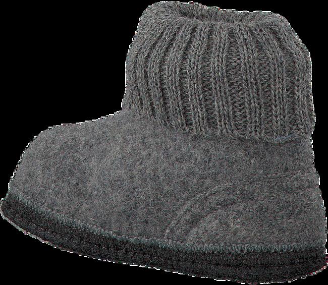 BERGSTEIN Chaussons COZY en gris - large